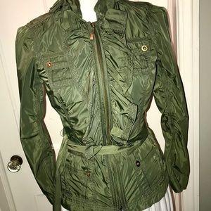 WHBM Green coat